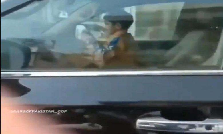 Child Running SUV in Pakistan
