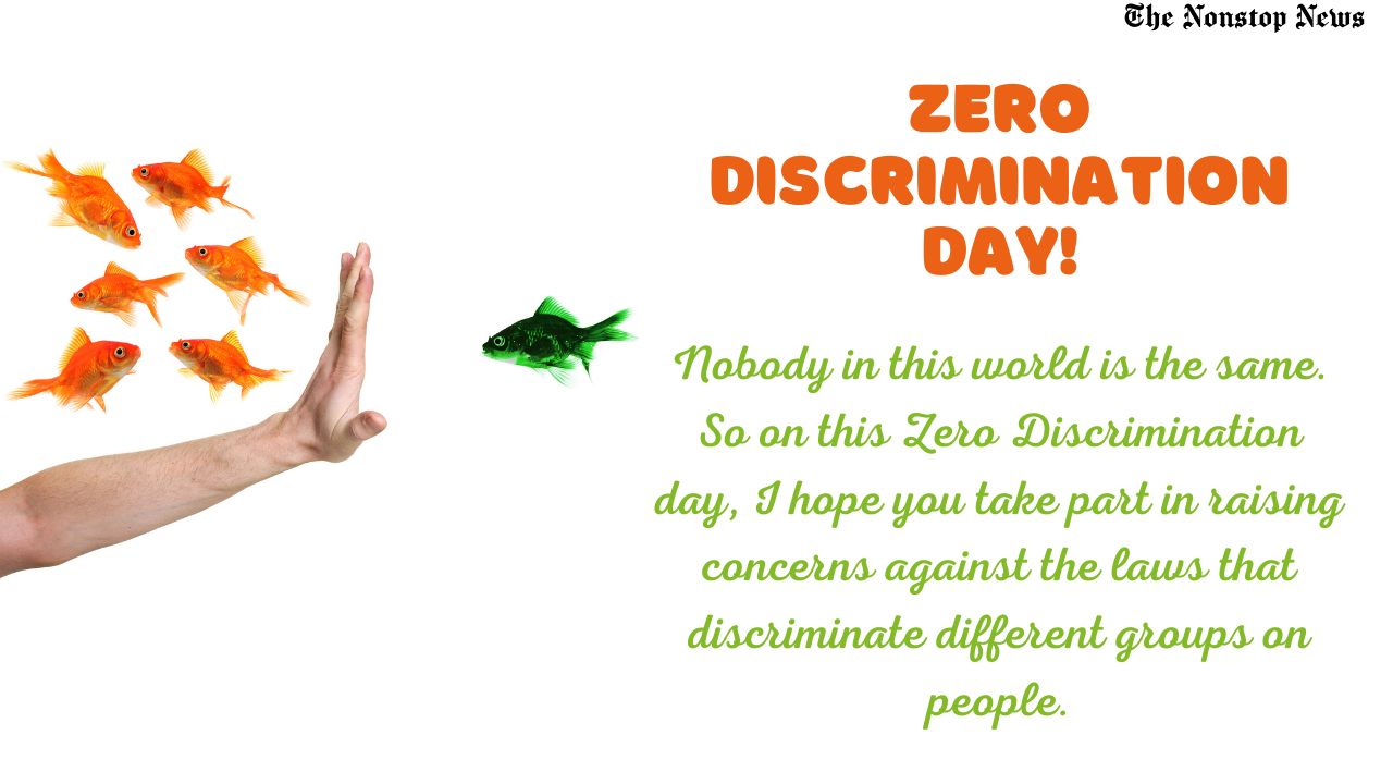 Zero Discrimination Day 2021 Quotes, Messages, Greetings, Wishes and HD Images to Share