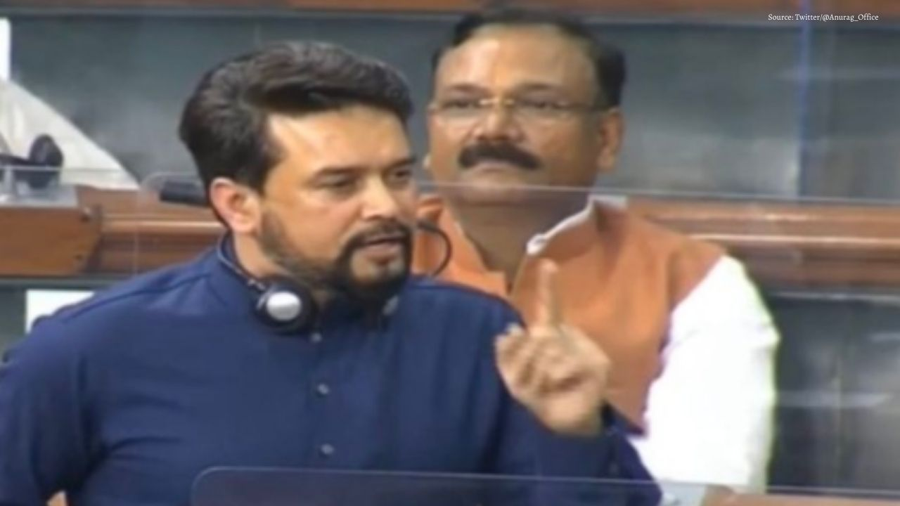 Anurag Thakur Open Challenge to Opposition Leaders, Said - Do Not Use Farmers to Shine Your Politics.