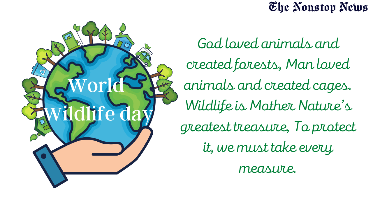 World Wildlife Day 2021 Quotes, Messages, Greetings, Wishes, and HD Images to Share