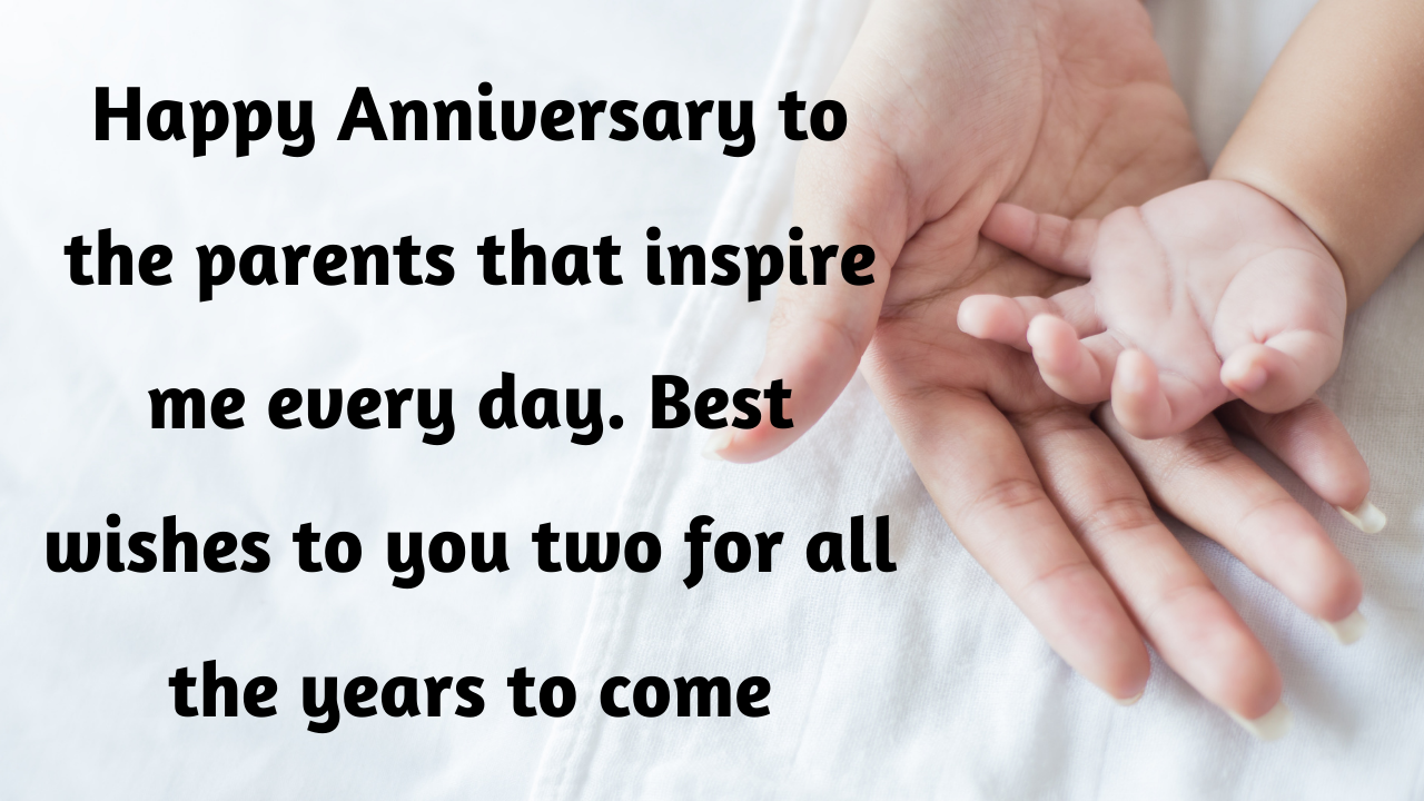 Happy Marriage Anniversary Wishes for Mummy and Papa (Parents)