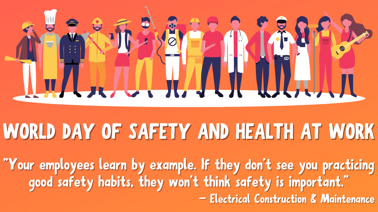 World Day for Safety and Health at Work 2021 Theme, Quotes, Poster, and HD Images to Share