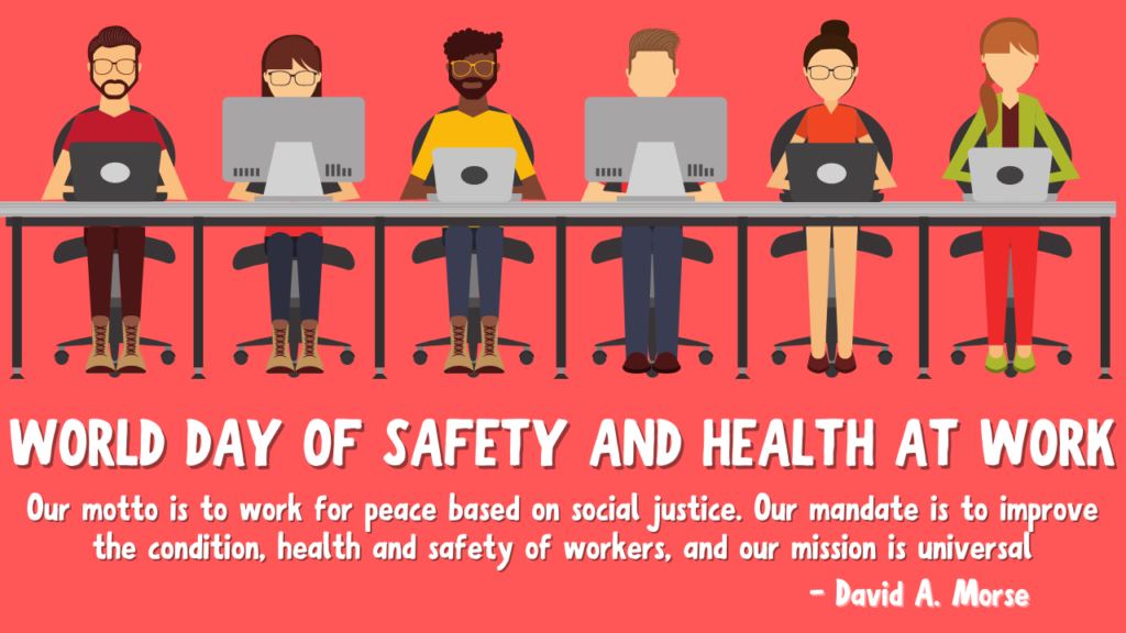 World Day for Safety and Health at Work Wishes
