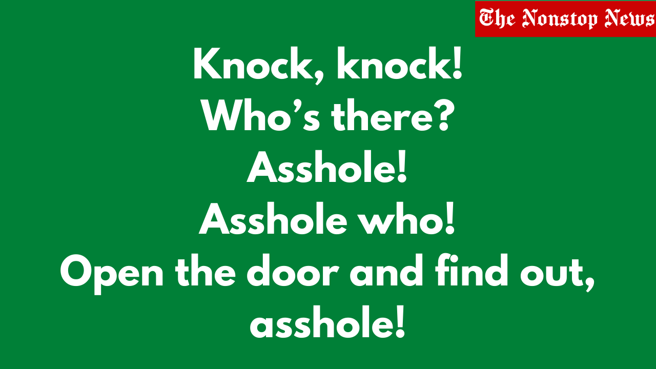 60+ Best Dirty, Flirty Knock Knock Jokes for Adults and Kids