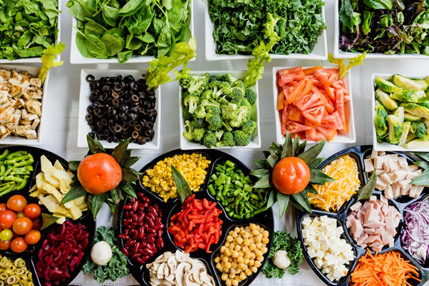 Eat A Diet Rich in Fruits, Vegetables & Dry Fruits