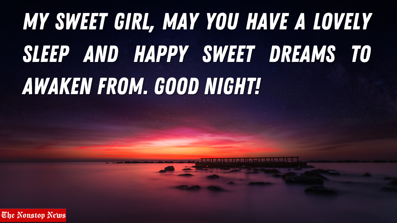 50+ Romantic And Sweet Good Night Messages for her