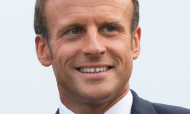 Emmanuel Macron: Video: French President Emmanuel Macron's ear stone; Both arrested