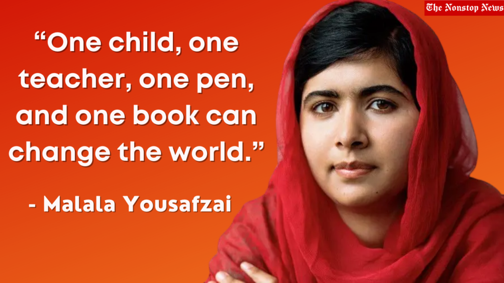 Malala Day messages
