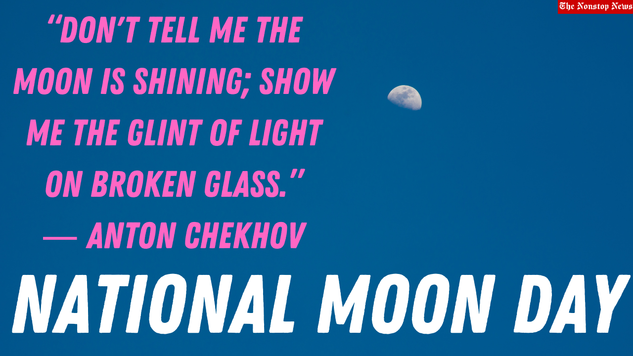 National Moon Day 2021 Quotes, Images, Poster, and Drawing to Share