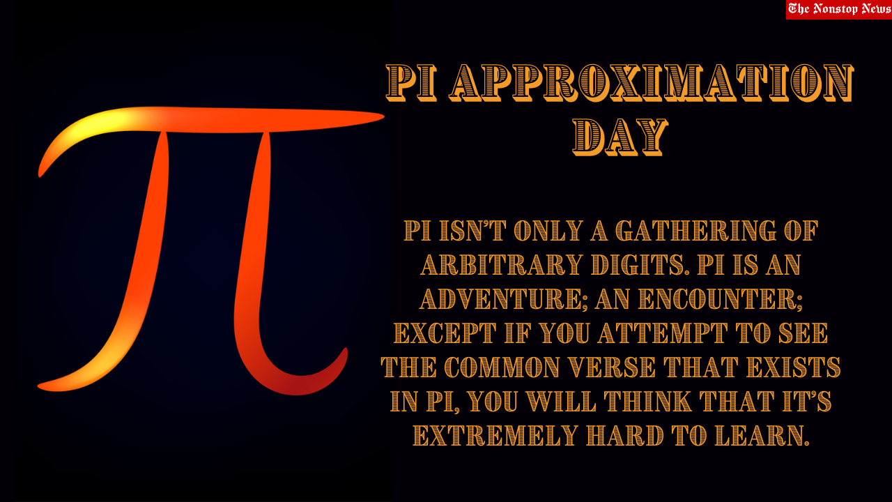 Pi Approximation Day 2021 Quotes, HD Images, Poster, Messages, and Drawing to Share