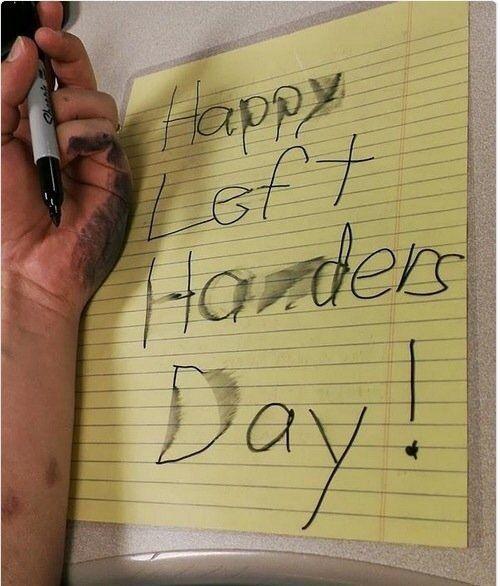 Happy Left Handers Day