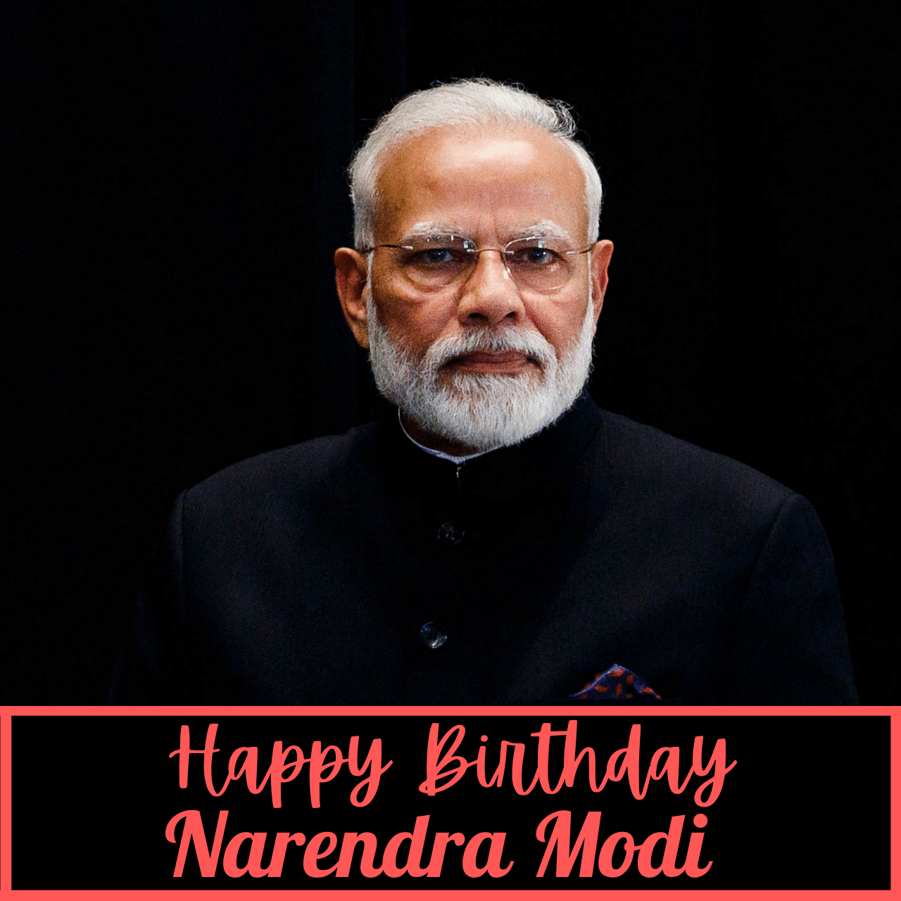 Happy Birthday Narendra Modi Wishes, Poster, Banner, Card, and Images to greet Indian prime minister