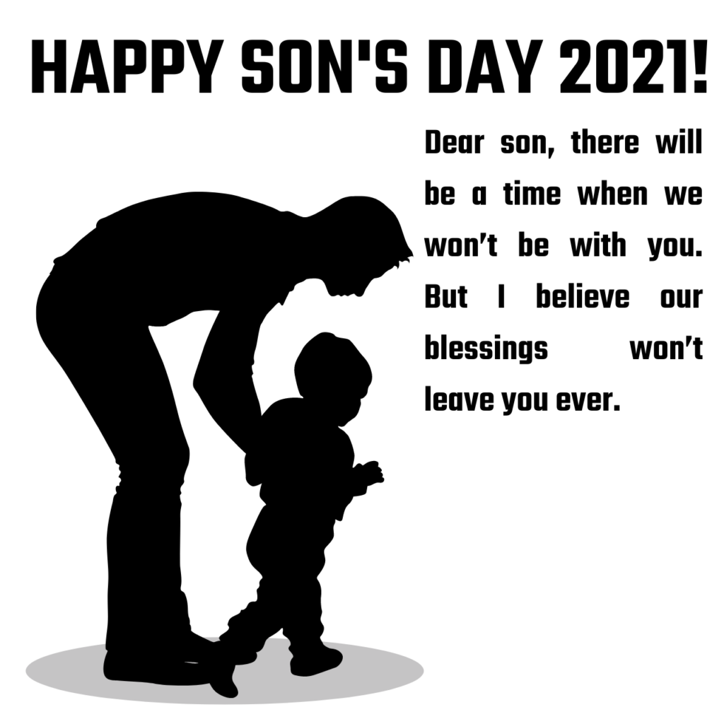 Happy National Sons Day Quotes