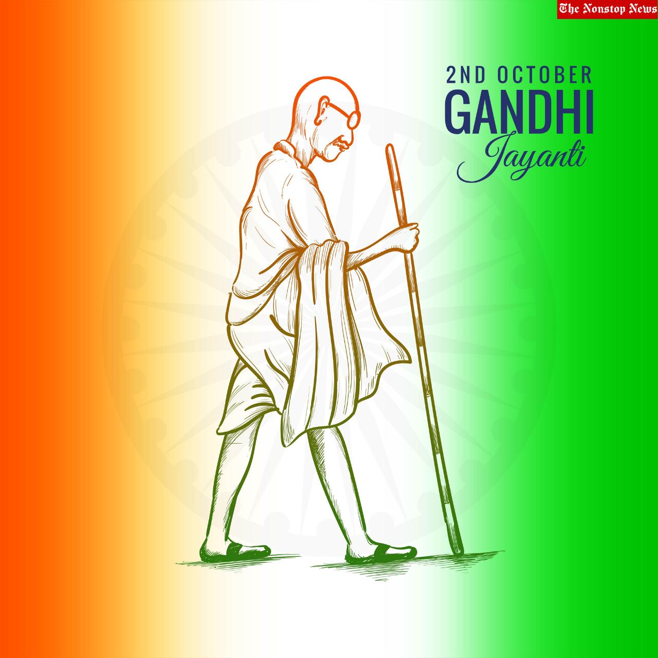 Mahatma Gandhi Jayanti 2021 Instagram Captions, Status, Wallpaper, Social Media Posts, Poster, Banner, and Drawing to Share