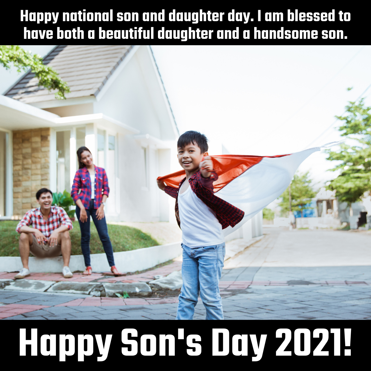 National Sons Day (US) 2021 Sayings, HD Images, Meme, Captions, Stickers, Quotes, and Images to share