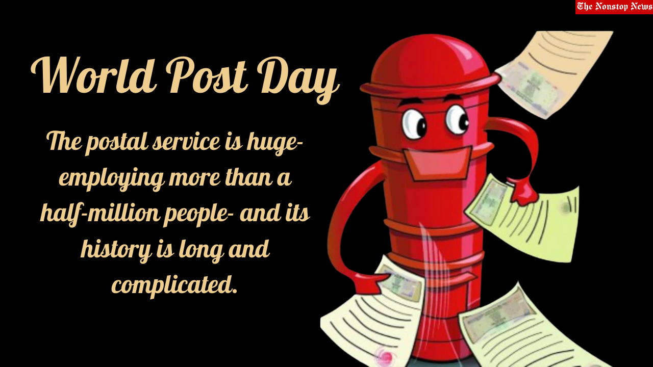 World Post Day 2021 Quotes, Images, Poster, Messages, Wishes, and Drawing to Share