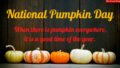 National Pumpkin Day 2021 Facebook Messages, WhatsApp Quotes, Instagram Captions, and Clipart to Share