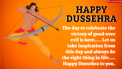 Dussehra 2021 Wallpaper, Instagram Captions, Facebook Greetings, Twitter Messages, Status, and WhatsApp Stickers to Share on Vijayadashmi